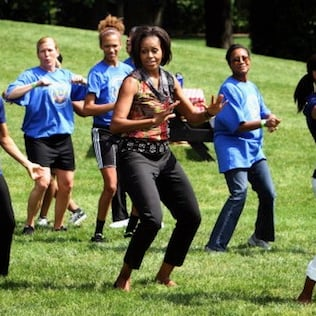 Michelle Obama and Beyonce Get Kids Dancing Across the Country