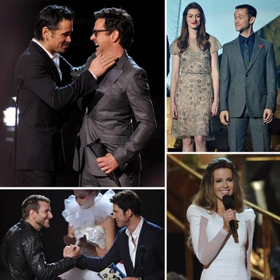 Celebrities at 2011 Scream Awards