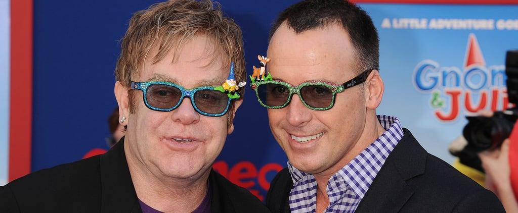 Elton John and David Furnish's Family Life