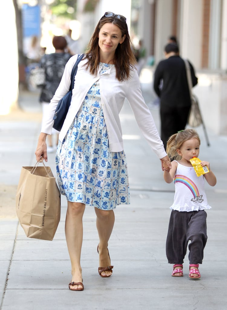 Jennifer Garner and Seraphina Affleck were hand in hand for their day out on the town.