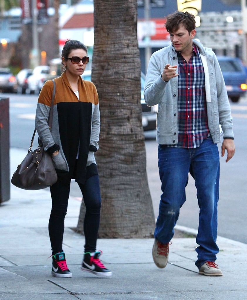 Being Engaged Is a Good Look For Mila and Ashton