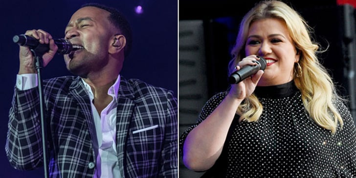 """Kelly Clarkson and John Legend """"Baby It's Cold Outside"""" Song 