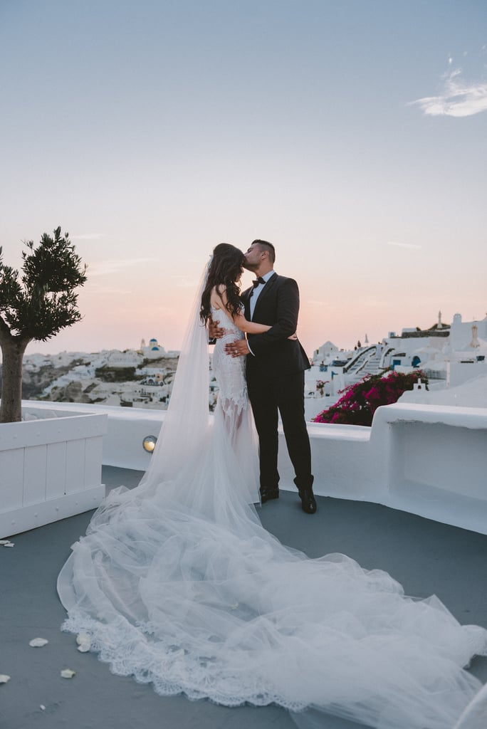 Joe and Connie traveled all the way to Santorini, Greece, from Australia to host their breathtaking wedding. See the wedding here!