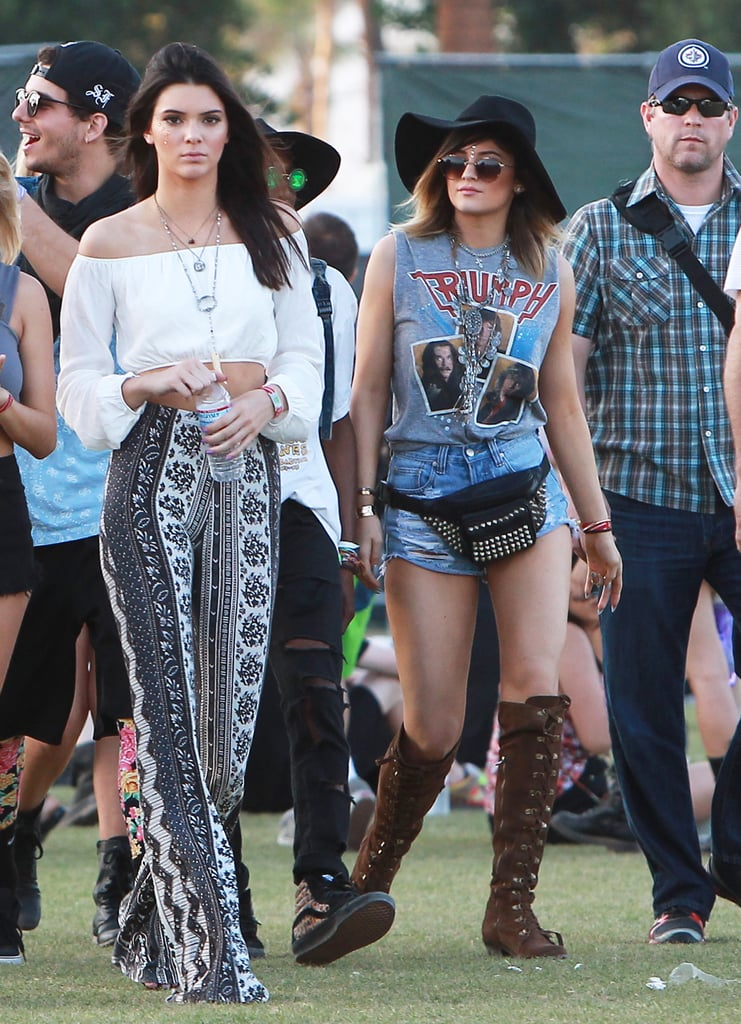 Kendall and Kylie Jenner had a fun day out in 2014.