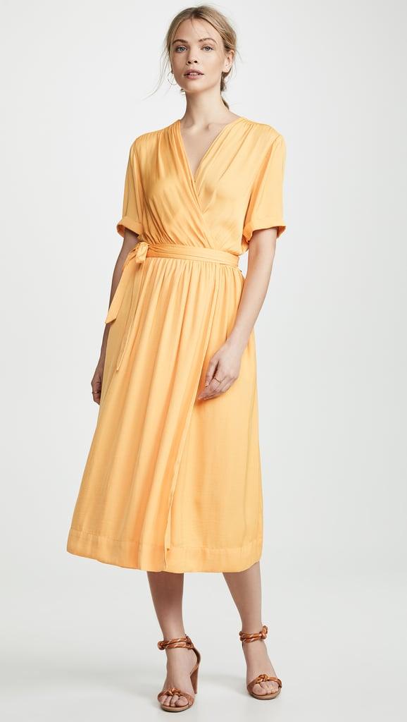 c76e723d74 Pippa Middleton Yellow Floral Dress at Wimbledon 2019 | POPSUGAR Fashion