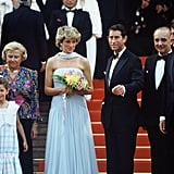 Diana and Charles made their iconic Cannes Film Festival premiere in 1987.