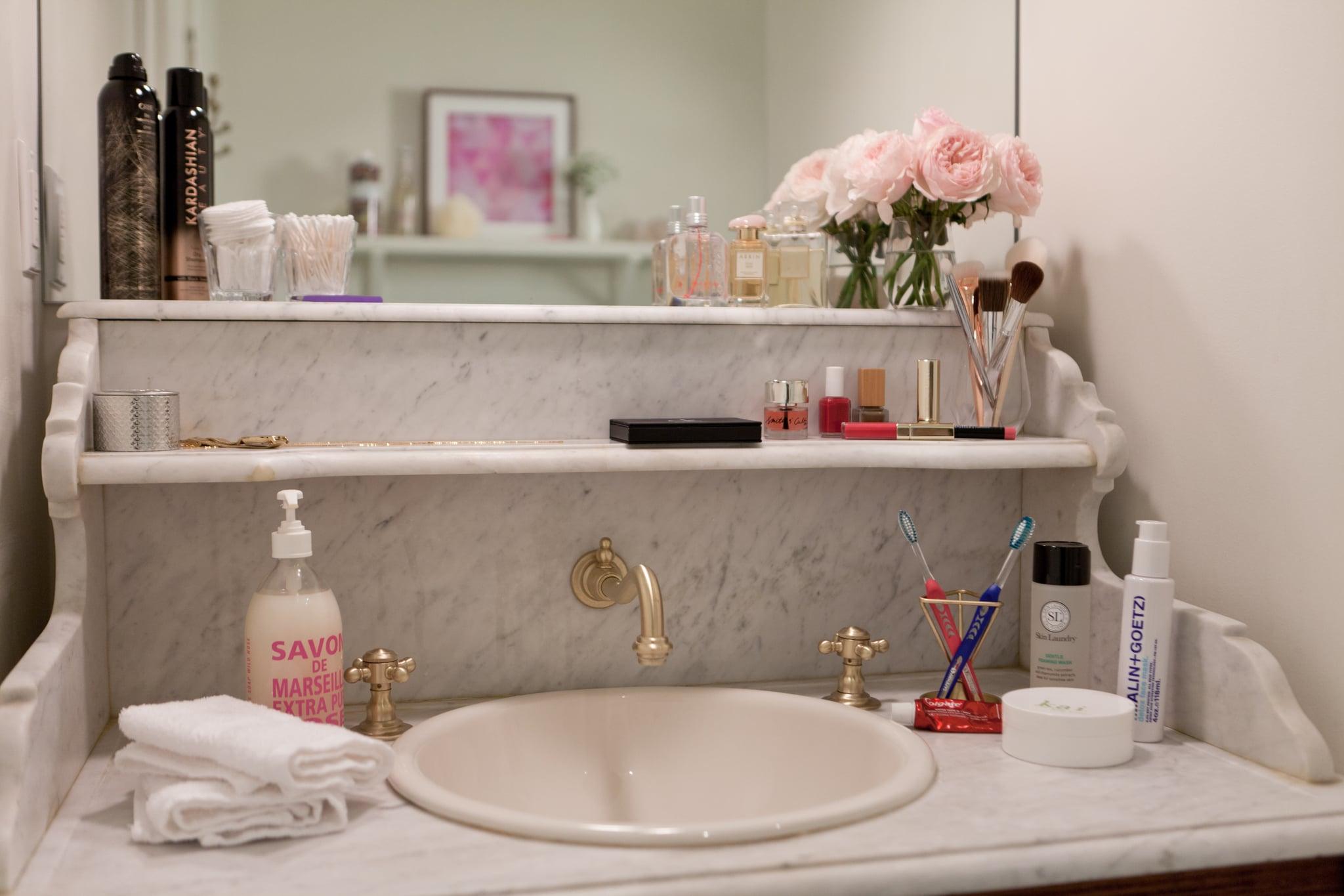 How To Organize The Bathroom Popsugar Middle East Smart Living
