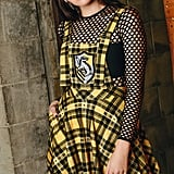 Harry Potter Tartan Hufflepuff Apron Dress