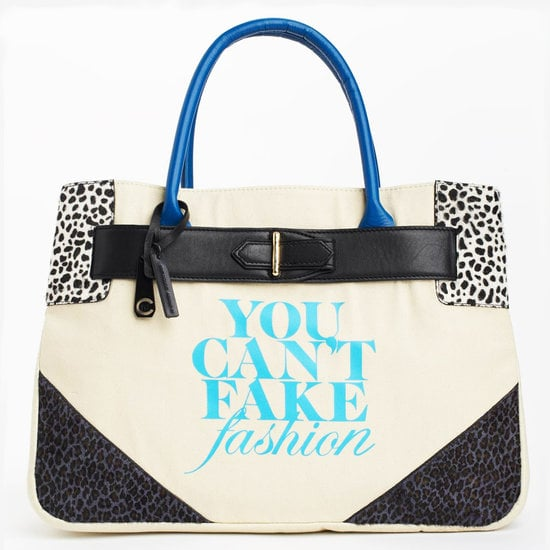 eBay and the CFDA teamed up on another line of You Can't Fake Fashion totes, and this year's lot was better than ever.