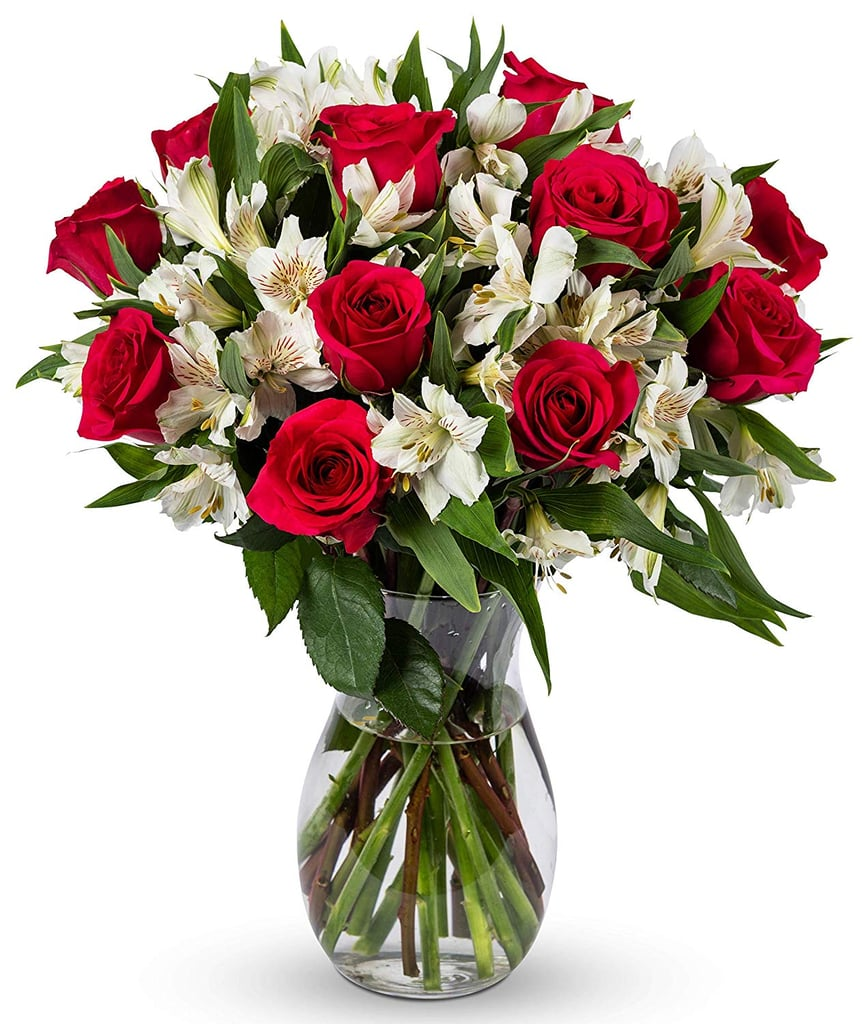 Benchmark Bouquets Signature Roses And Alstroemeria