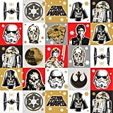 Star Wars Squares Jumbo Christmas Wrapping Paper Roll