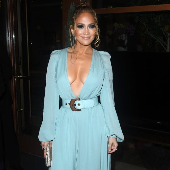 Jennifer Lopez Wears Elie Saab Gown to the LAFCA Awards