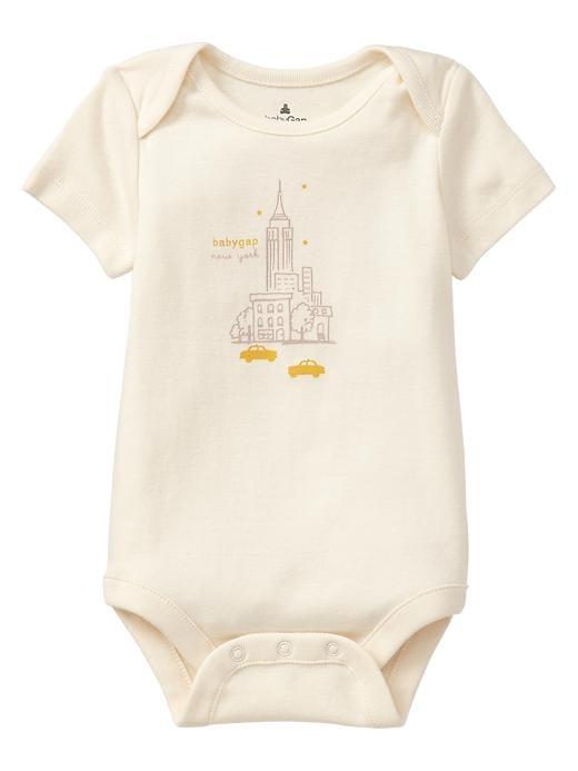 BabyGap City Graphic Bodysuit