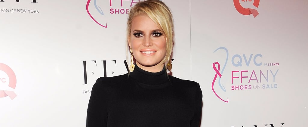 Jessica Simpson Puts Her Best Foot Forward at a Fashion Event in NYC