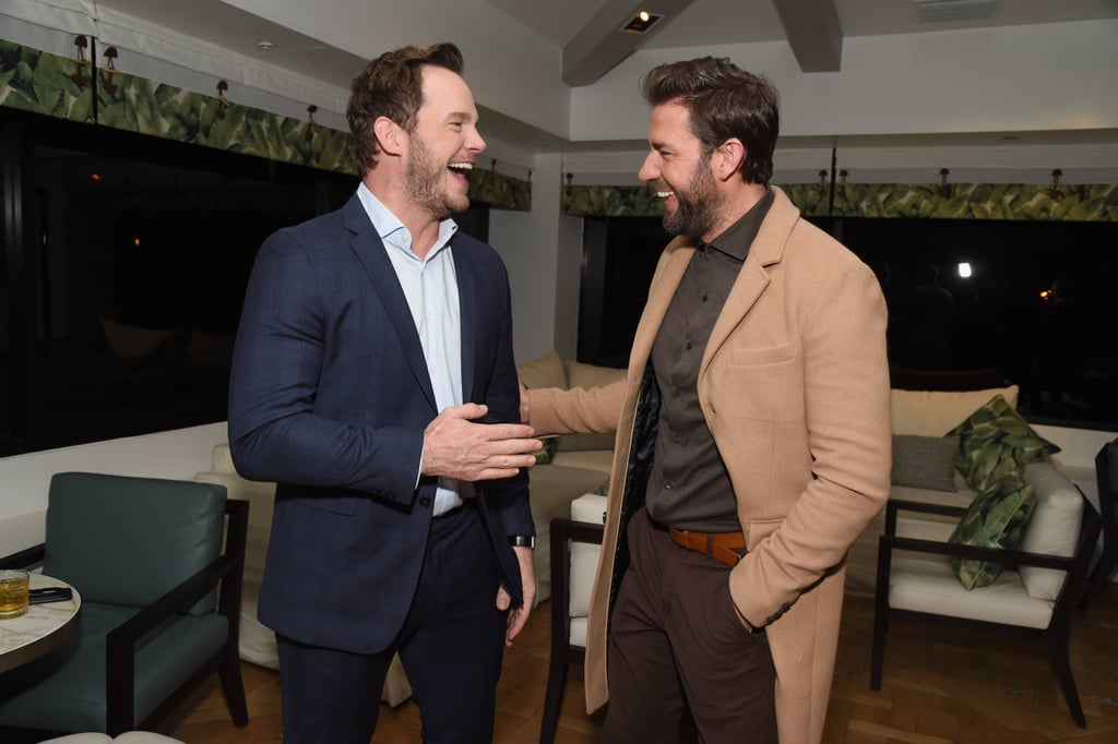 Are John Krasinski and Chris Pratt Friends?