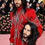 Jared Leto Carries Head at the Met Gala 2019