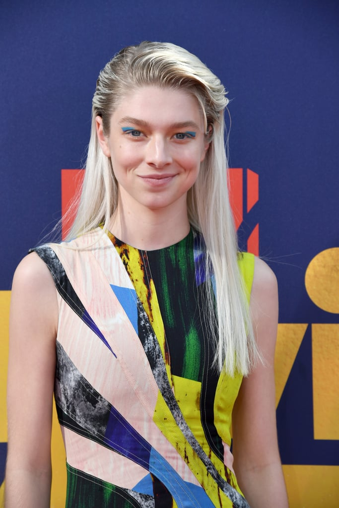 Hunter Schafer's Colorful Makeup at the MTV Movie & TV Awards