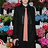 Carey Mulligan attended the Prabal Gurung For Target launch in NYC on Wednesday.