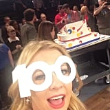 Melissa Joan Hart celebrated the 100th episode of her show Melissa and Joey.