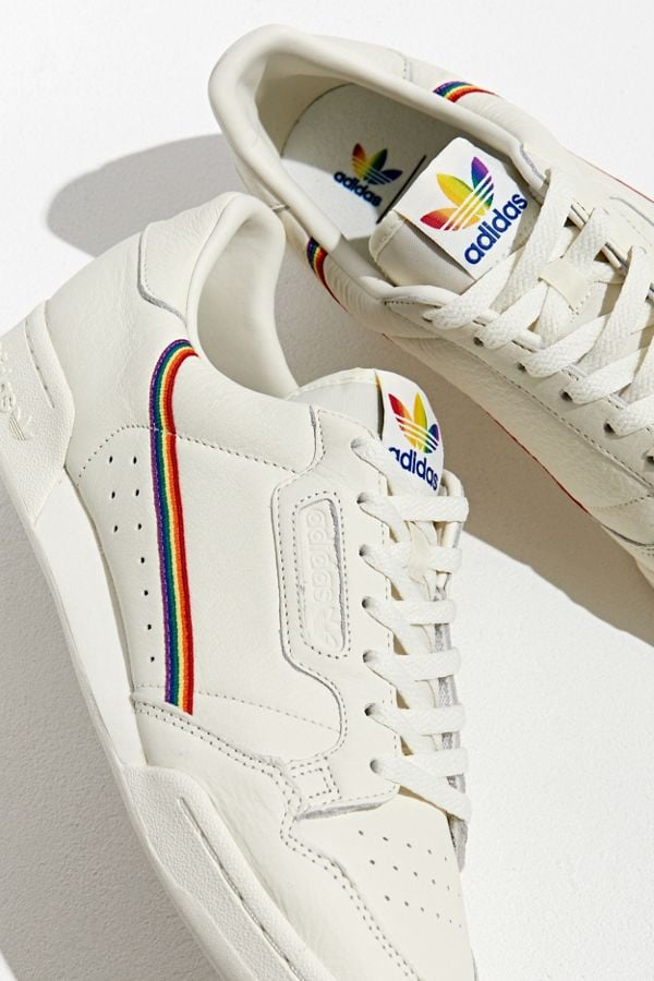 Adidas Pride Continental 80 Trainers | Best Rainbow Trainers ...