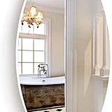 Facilehome Oval Wall Mounted Mirror