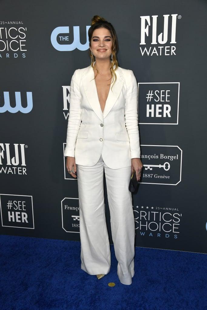 Annie Murphy at the 2020 Critics' Choice Awards