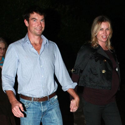 Jerry O'Connell and Rebecca Romijn Out on Thanksgiving