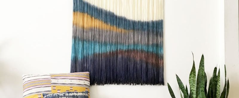 Textile Art Wall Decor
