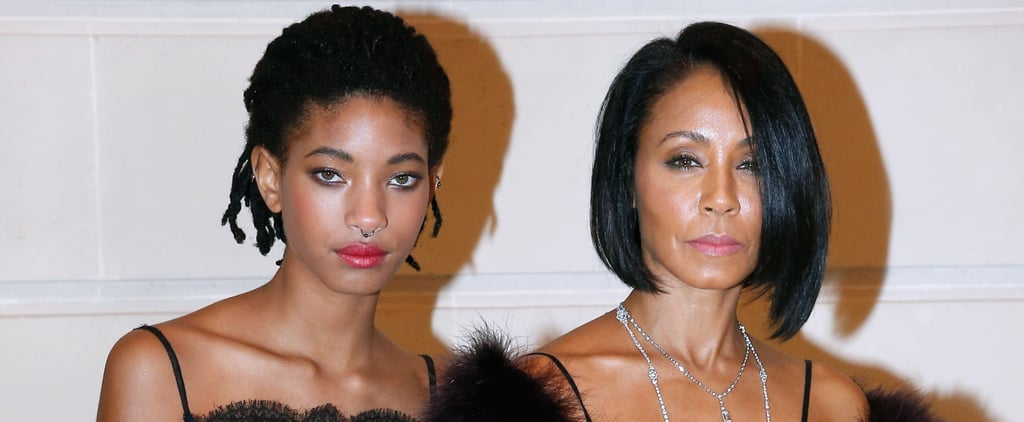 Jada Pinkett Smith and Willow at Chanel Show in Paris 2016