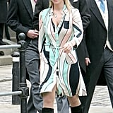 And Was Bold Enough to Rock This Mod Wrap Dress at Prince Charles's Wedding in 2005