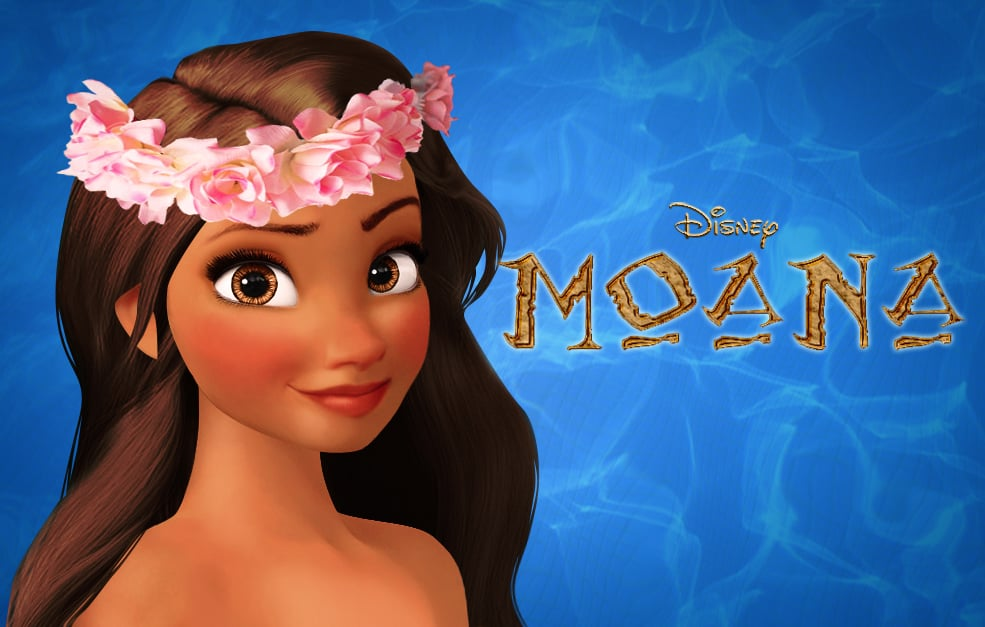 Moana Disney Princess Art