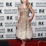 Taylor Swift posed on the red carpet at the Ripple of Hope Gala in NYC.