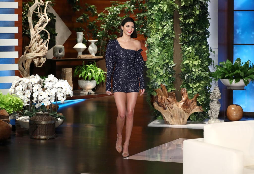 Fact: Kendall Jenner Just Wore the Shortest Minidress in the World
