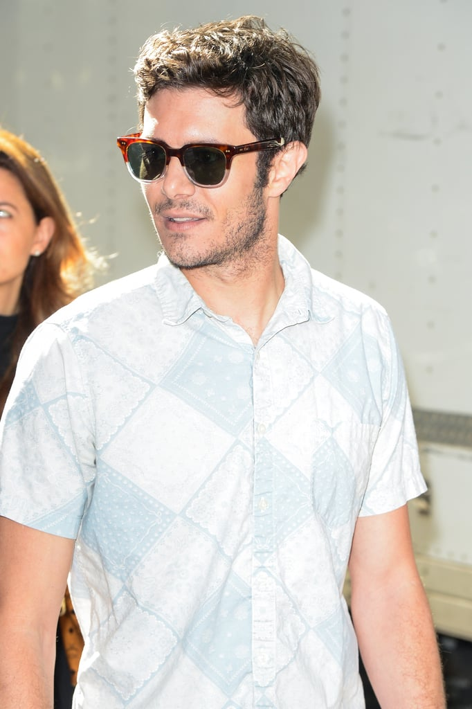 Adam Brody's Sexy Outing in NYC Will Take You Right Back to Your Childhood Crush