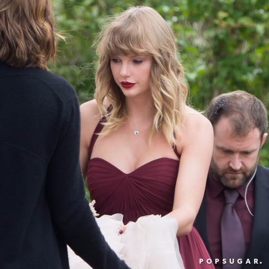 Taylor Swift at Her Best Friend Abigail's Wedding Pictures