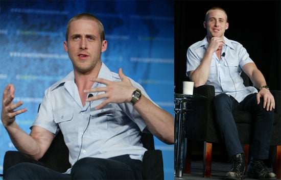 Photos of Ryan Gosling Speaking at Enough Project Conference