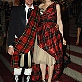 Alexander McQueen's muse at the 2006 Met Costume Gala. Tartan City!
