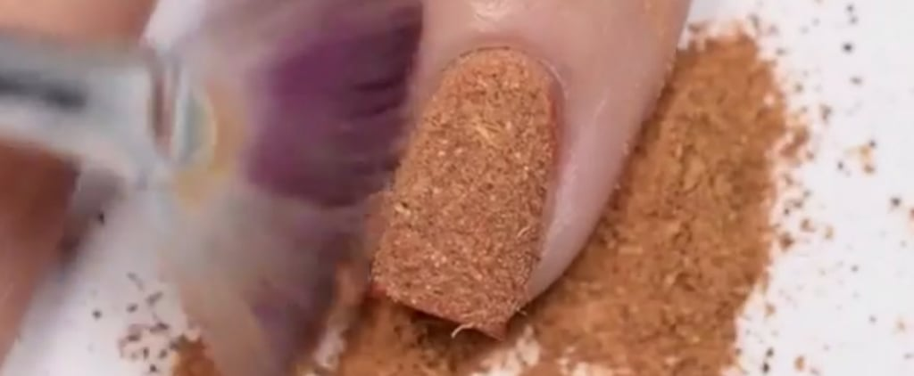 This Nail Art Tutorial Proves the Pumpkin Spice Craze Has Gone Too Far