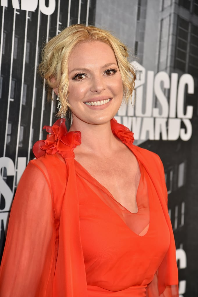Katherine Heigl's New Brown Hair Color