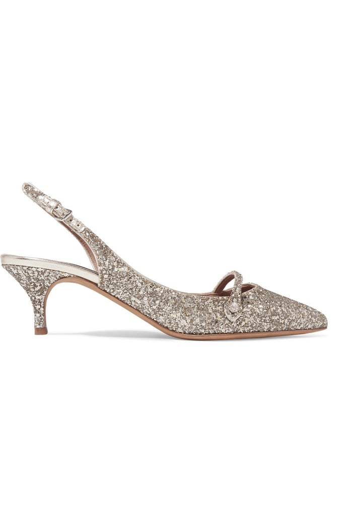 94b7503af59b Tabitha Simmons Layton Glittered Leather Pumps | Kendall Jenner ...