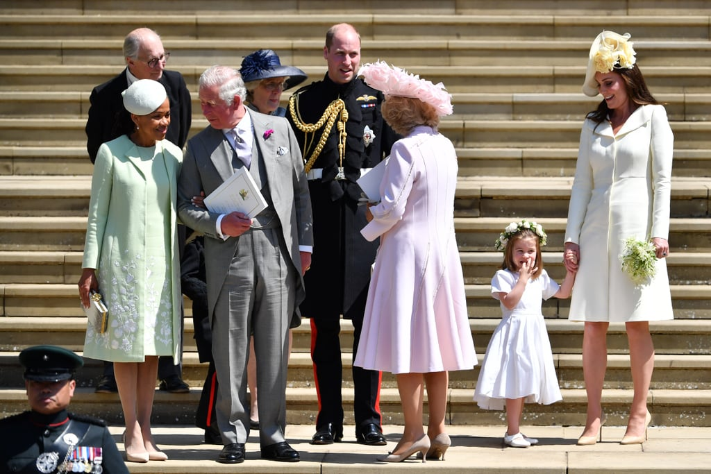 Princess Diana's Family at Prince Harry and Meghan's Wedding