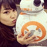 You hopelessly fell in love with BB-8.