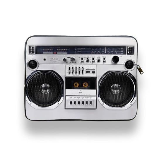 Boom Box Laptop Sleeve