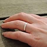 White Sapphire Ring: $55
