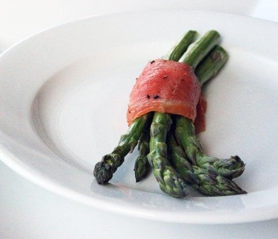 Asparagus and Salmon Bundles