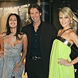 Megan Fox, Michael Bay and Rachael posed together at a screening of Transformers in Sydney in June 2007.