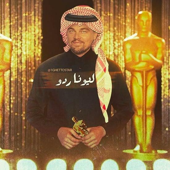 Abdullah Al-Harithy Turns Celebs into Khaleejis