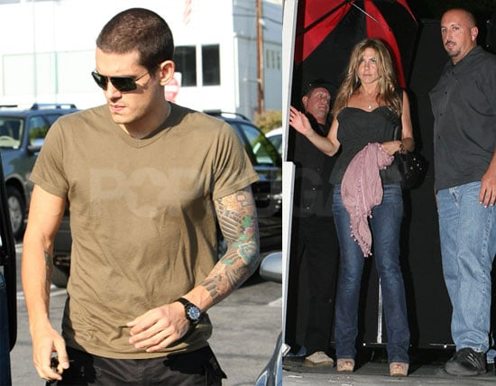 Photos of Jennifer Aniston and John Mayer at Villa in LA, Jennifer Aniston Participates in Stand For Cancer
