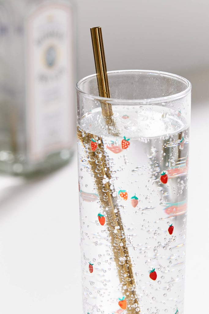 Gold Stainless Steel Straw