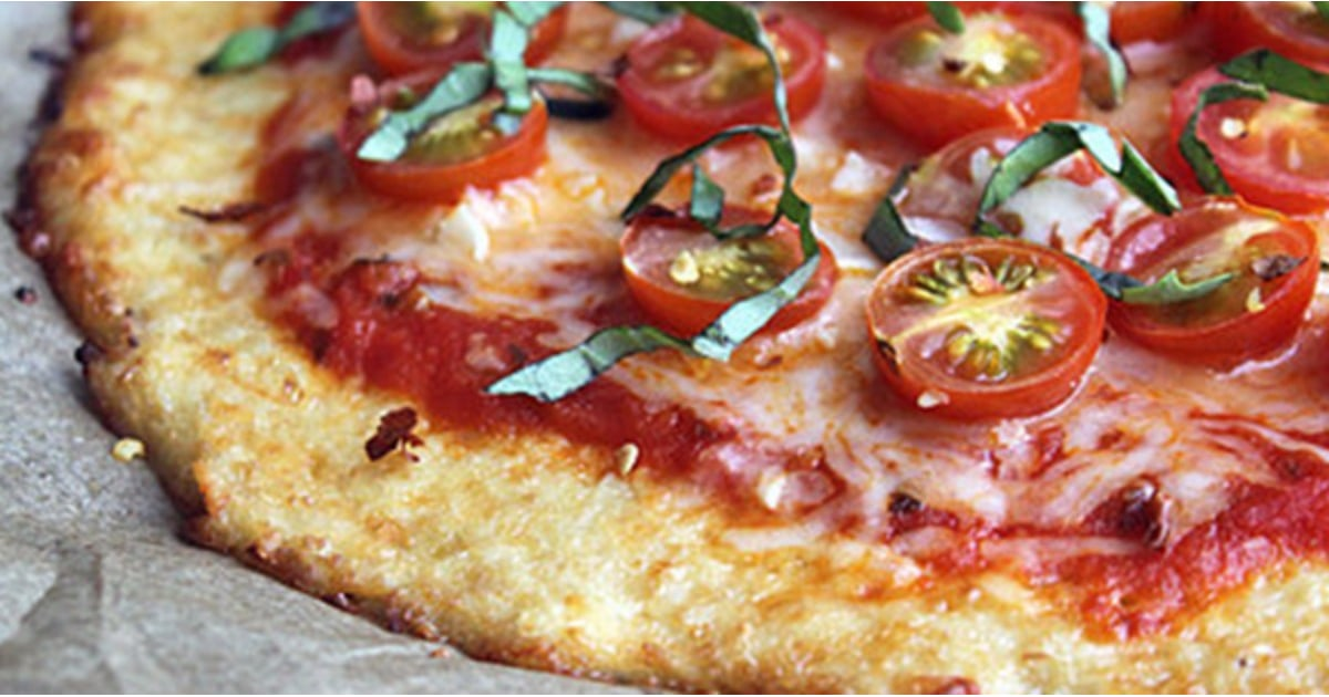 The Easiest Low-Carb Cauliflower Pizza Crust You Can Make at Home